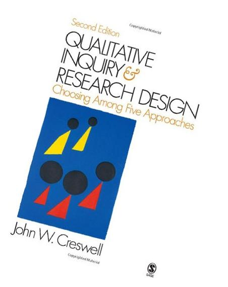 qualitative inquiry and research design choosing among five approaches paperback