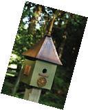 Heartwood 078B Songbird Suite Bird House - Dark Olive