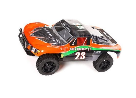 1/10 Exceed RC Electric Rally Monster Truck Short Course Off