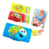 1 Baby Kids Diaper Wet Wipes Case Box Refillable Container