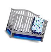 4 in 1 Convertible Baby Crib Mattress Newborn Toddler Infant Bed Nursery Gray