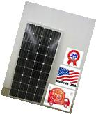 1- solar panel 160 watt 12 Volt Battery Charger  Off Grid RV
