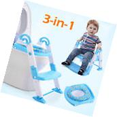 3 in 1 Baby Potty Training Toilet Chair Seat Step Ladder