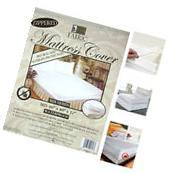 1 Queen Size Zippered Mattress Cover Waterproof Bed Bug Dust