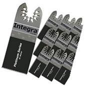 INTEGRA Tools 10 PC Bi-Metal Nail Eater Oscillating Saw