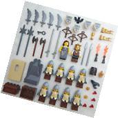 10 NEW LEGO CASTLE KNIGHT MINIFIG LOT Kingdoms hawk figures