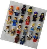 10 NEW LEGO MINIFIG PEOPLE LOT random grab bag of minifigure