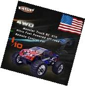 HSP 94188 1/10 Scale Nitro Gas Power Off Road Monster Truck