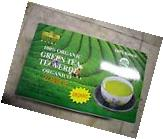 New 100 BAGS ROYAL KING ORGANIC GREEN TEA USDA CERTIFIED