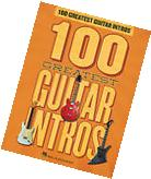 100 GREATEST GUITAR RIFFS INTROS TAB SHEET MUSIC SONG BOOK
