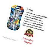 11 Supermax SMX 3 Razor BLADES Refill fit Gillette Sensor3