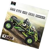 100% Wltoys 12428 1/12 2.4G 4WD Electric Brushed Crawler RTR