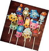 12- SHOPKINS Cupcake Toppers / Cake Toppers / Birthday Party