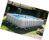 """16x32x52"""" Intex 28375EH Ultra Frame Swimming Pool Kit w/"""