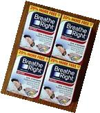 128 BREATHE RIGHT Nasal Strips EXTRA TAN Adult Size Nose