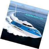 12km/h 10 inch RC boat Radio Metal  Remote Control RTR