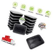 15 Meal Prep Containers 3 Compartment Food Storage Plastic
