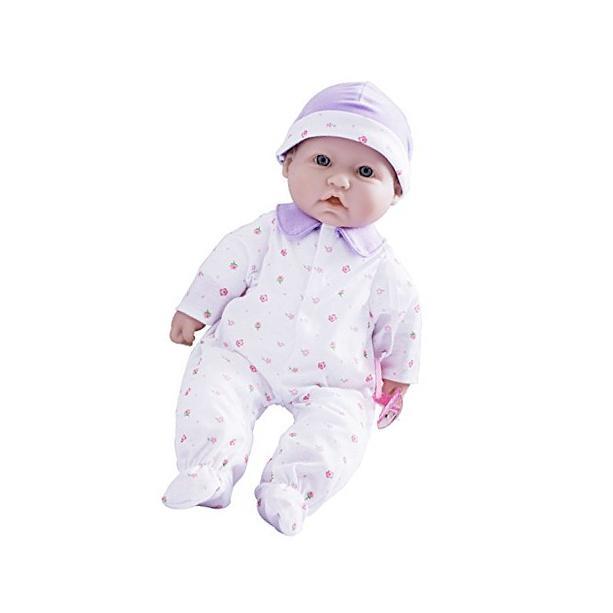JC Toys 15030_BLa Baby Play Doll, Caucasian Purple New