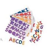 "52 Alphabet Foam Sticker Letter 1/2"" ABC Self Adhesive 2"