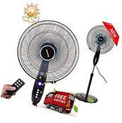 16''Adjustable Oscillating Pedestal Fan Stand Floor 3