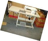 SINGER 191D-30 SINGLE NEEDLE INDUSTRIAL SEWING MACHINE W/