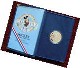 1928-1988 MICKEY MOUSE SIXTY YEARS WITH YOU .999 SILVER 1 OZ