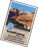 1930s Grand Canyon National Park Vintage Railroad Travel
