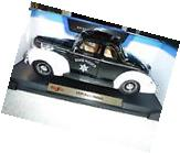1939 FORD DELUXE MAISTO SPECIAL EDITION POLICE CAR 1:18 DIE