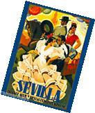 1946 Sevilla Seville Spain Europe European Vintage Travel