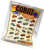 Corgi Juniors 1972 Catalog Brochure Batmobile Monkeemobile