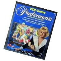 1986 Mattel Predicaments VCR Game TV Soap Opera Hosted by