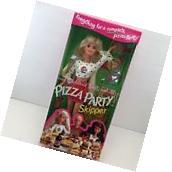 1994 NIB Barbie PIZZA PARTY SKIPPER Pizza Hut Blonde Teen