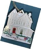 1997 LENOX CERAMIC CHRISTMAS ORNAMENT FROM OUR HOME TO YOUR