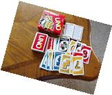 1998 UNO Original House Rules Card Game by Mattel COMPLETE