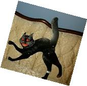 1LARGE BEISTLE BLACK JOINTED-SCAT CAT��VINTAGE STYLE