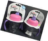 THERMOS - FOOGO SIPPY CUP - 8OZ - 6M+ - PINK/PURPLE - BPA