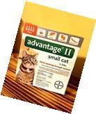 NEW Bayer Advantage II 2 Small Cat 5-9 lbs 4 Pack