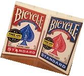 2 New Sealed Deck of Bicycle Standard Face Poker Playing