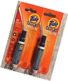 2 PENS Tide To Go Mini #1 INSTANT STAIN REMOVER Food Coffee