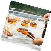 NEW! 2 Tray Choice Bakery Display Case Front Rear Door Donut