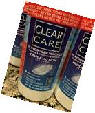 2 Clear Care TRIPLE ACTION CLEAN Hydrogen Peroxide 2 Cases