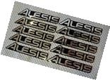 20 ALESIS LOGO STICKERS / DECALS - AUDIO MUSICAL INSTRUMENTS