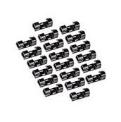 eBoot 20 Packs Self Adhesive Cable Clips Cable Drop Wire