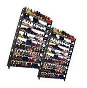20-Tier Shoe Rack 100 Pair Wall Bench Shelf Closet Organizer