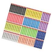 Little Valentine 200-Dart 10 Different Colors Refill Pack
