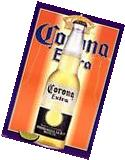 2001 CORONA EXTRA CERVEZA BEER POSTER NEW 23x35 FAST FREE