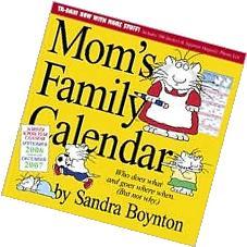 2007 Mom's Family Calendar Wall Calendar