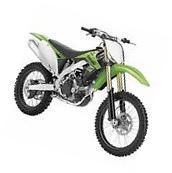 2012 Kawasaki KX450F Dirtbike - New Ray 49403 - 1/6 Scale