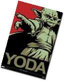 2012 LUCASFILMS STAR WARS YODA JEDI MASTER POSTER 24X36 NEW