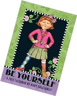 2013 Mary Engelbreit Monthly Pocket Planner: Be Yourself